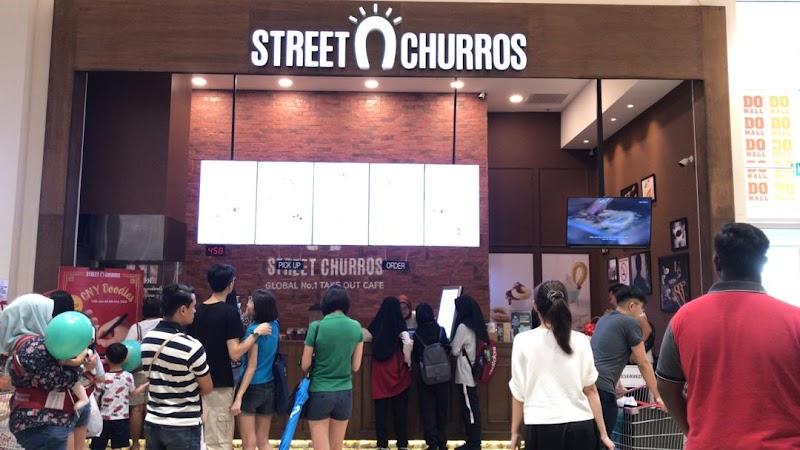 Perasmian Pembukaan Street Churros Malaysia Outlet ke 17 di Aeon Mall Seremban 2 Bersama Tomok