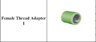 Harga fitting pipa ppr lesso female tread adapter 1