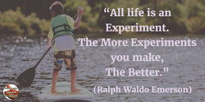 "71 Quotes About Life Being Hard But Getting Through It: ""All life is an experiment. The more experiments you make, the better."" - Ralph Waldo Emerson"