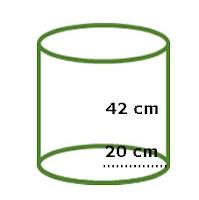 Gambar Soal Bangun Ruang Tabung atau Silinder 2