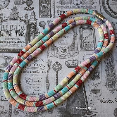 sugary pastel rope