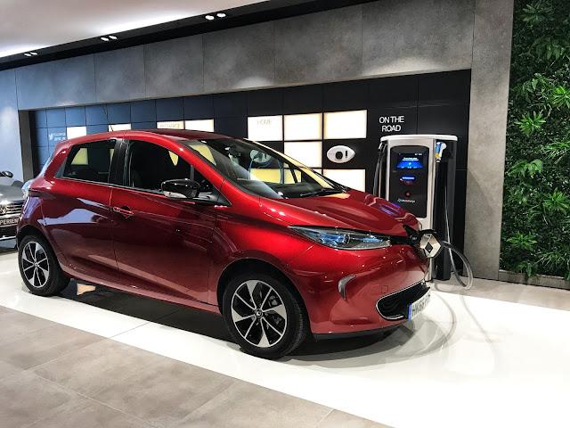 Electric Car Renault Zoe