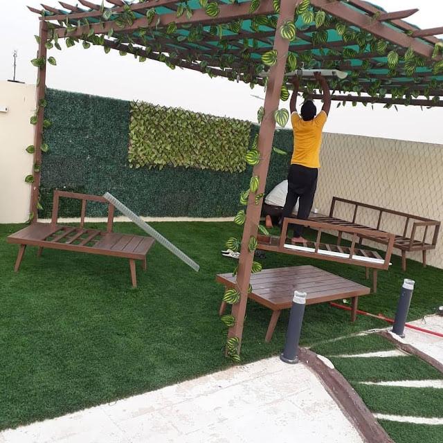 شركة تركيب العشب الجداري بالطائف تركيب الثيل علي الجداري بالطائف