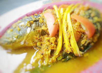 Resep Ikan Mas Bumbu Kuning