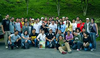 Participantes de los talleres