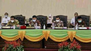 Pemko Medan dan DPRD Lanjutkan Pembahasan Ranperda Tentang Penetapan Zonasi PKL
