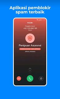 aplikasi truecaller mengindentifikasi nomor tidak jelas, nomor spamming dan penipuan