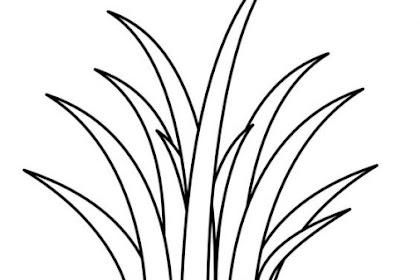 Mewarnai Gambar Rumput