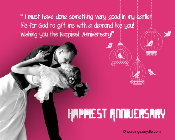 Funny wedding anniversary wishes for husband from wife with images