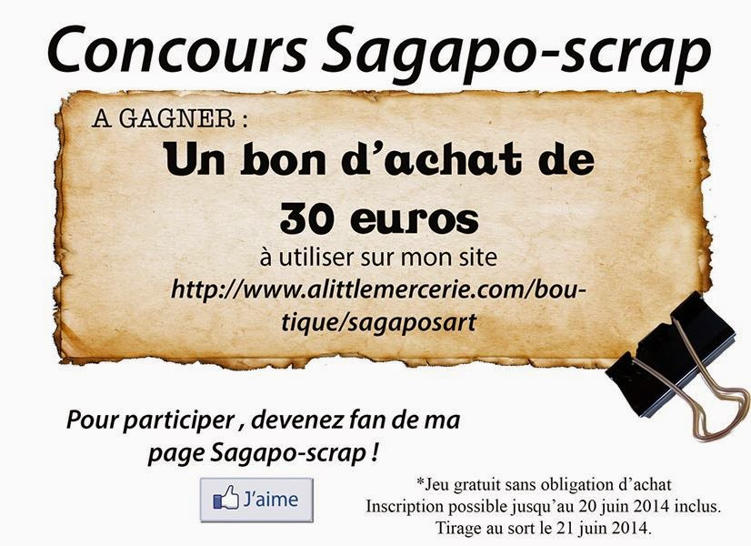 sagapo scrap le blog jeu sagapo scrap 30 euros gagner en bon d 39 achat. Black Bedroom Furniture Sets. Home Design Ideas