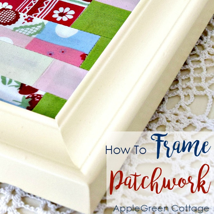 How To Frame Patchwork Quilt