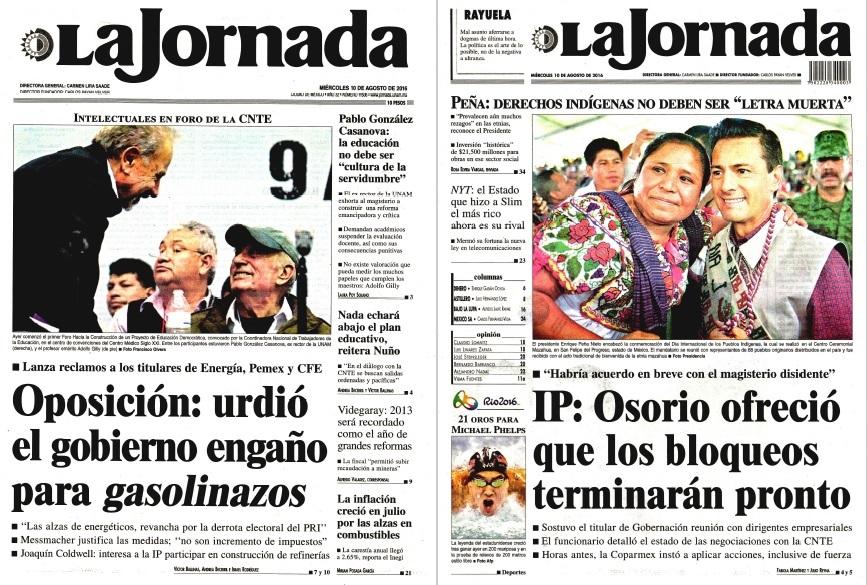 Noticias guerrer s sme peri dicos la jornada oposici n for Noticias del gobierno