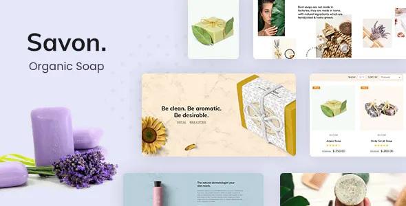 Best Soap Product WooCommerce WordPress Theme