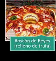 ROSCÓN DE REYES RELLENO DE TRUFA