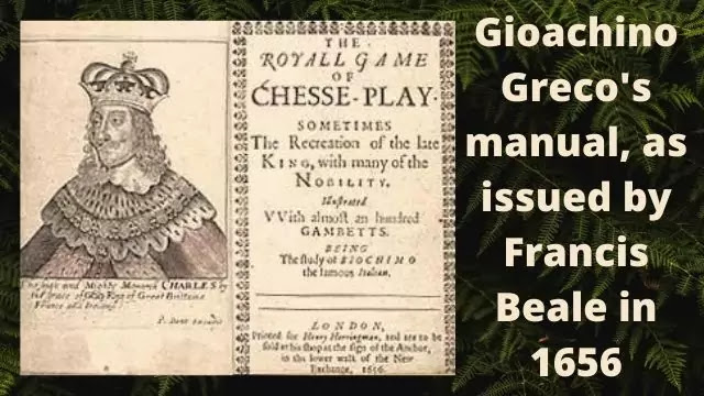 The Royall Game of Chesse-Play