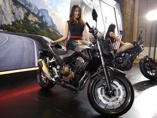Honda Resmi Merilis Motor 500cc Tiga Sekaligus Di Bandung,  yaitu CB500F, CBR500R, dan CMX 500