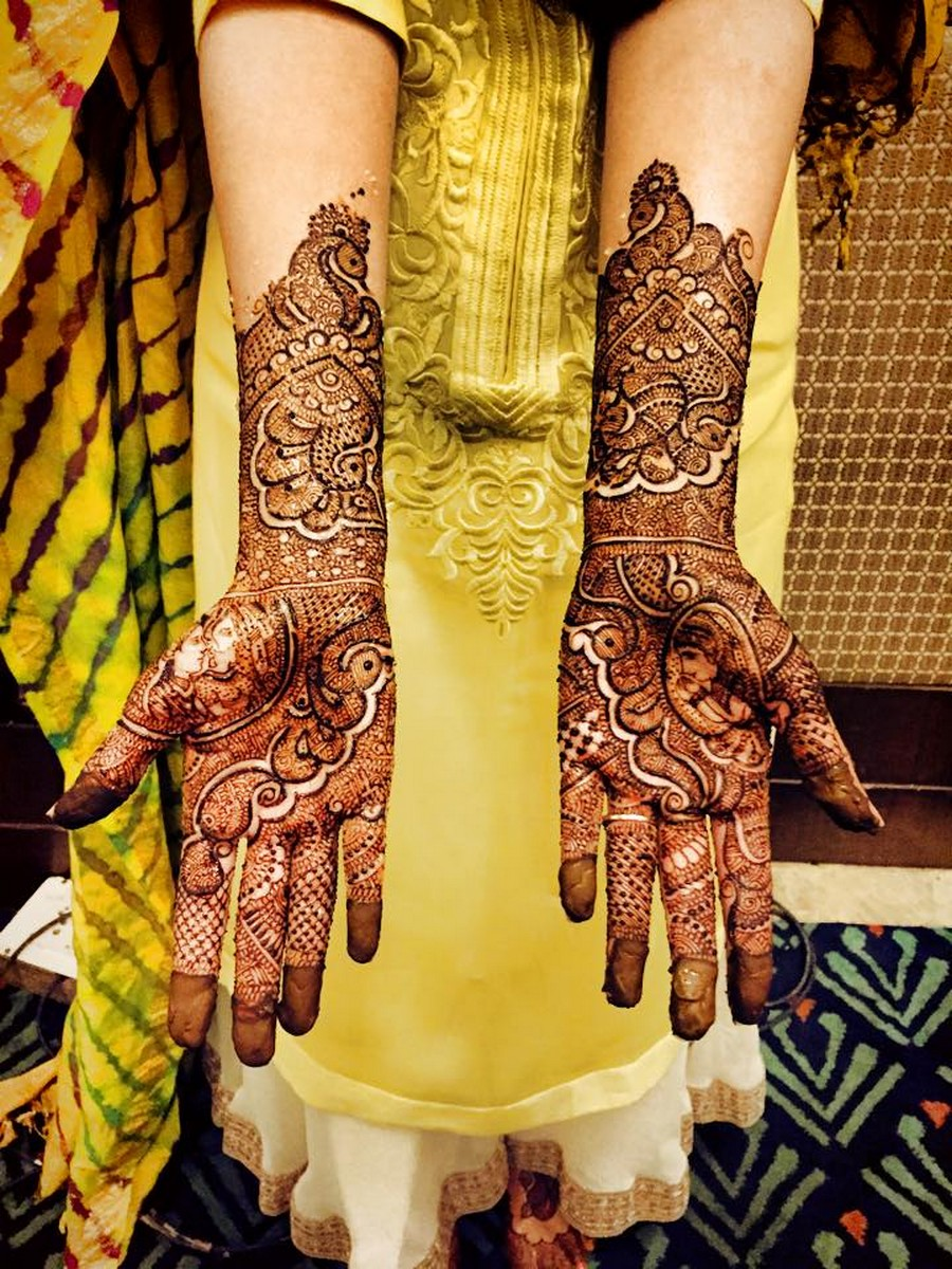 Arabic Mehndi Design For Men: Beautiful Latest Simple Arabic Pakistani Indian Bridal