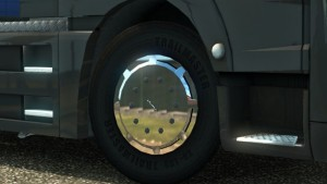 Chrome MAN Wheel