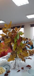 piękne jesienne dekoracje liscie, jesień
