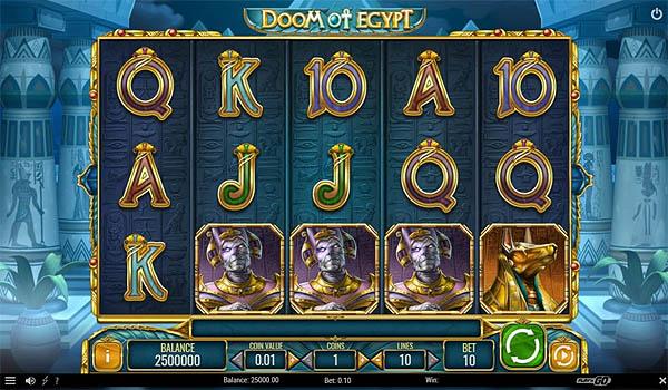Main Slot Indonesia - Doom of Egypt (Play N Go)