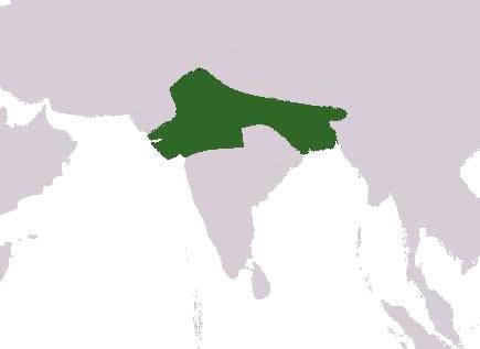 Harsha kingdom map