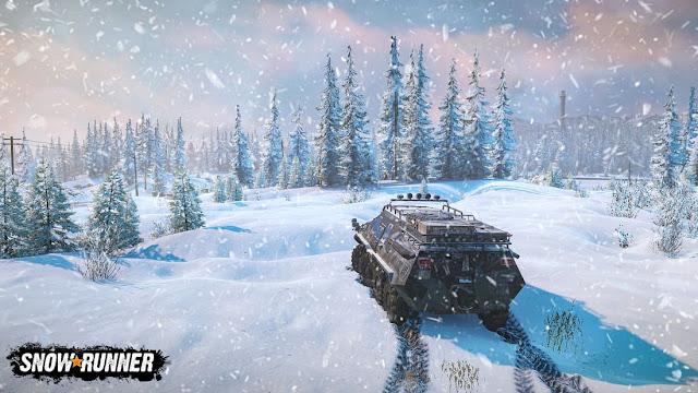 Imagem do SnowRunner