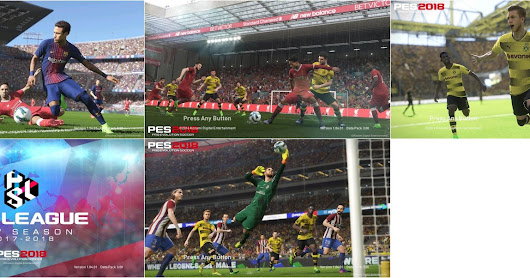PES 2017 StartScreen PES 2018 v2 by ABW
