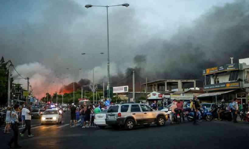 Φωτιά Μάτι: Το ξέσπασμα αστυνομικού και οι καταγγελίες
