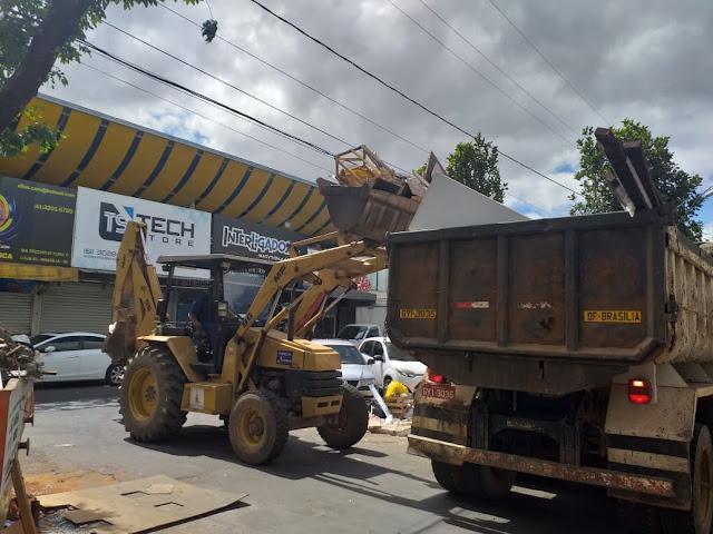 GDF não para, ações de limpeza e tapa-buraco tomam conta da cidade
