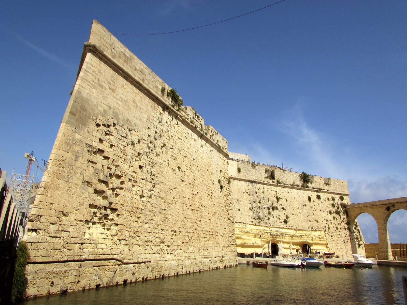 Malta. Malte. Il-Bet Valletta. La Valeta. Fuerte saint Angelo. Il-Birgu. Vittoriosa)