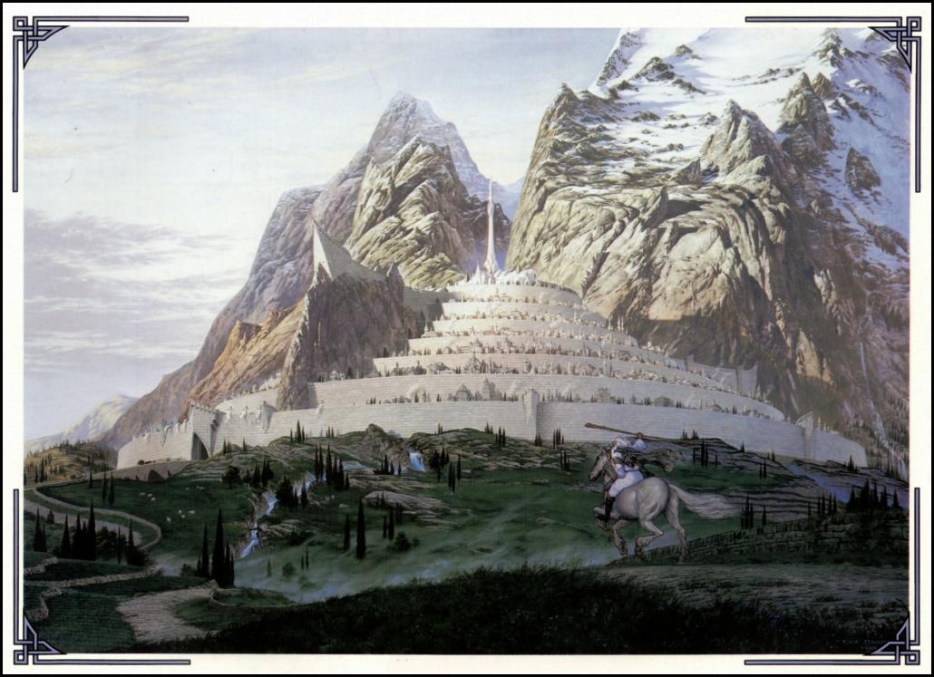 *Ted Nasmith* The 1990 Tolkien Calendar | Null Entropy