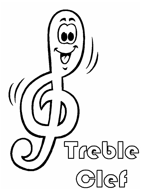 music note coloring pages printable
