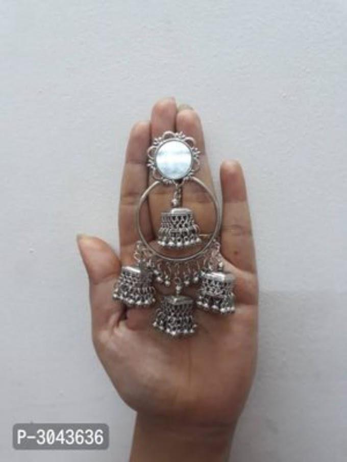 Trendy Designer Oxidised Earrings