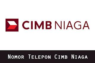Nomor Telepon Cimb Niaga