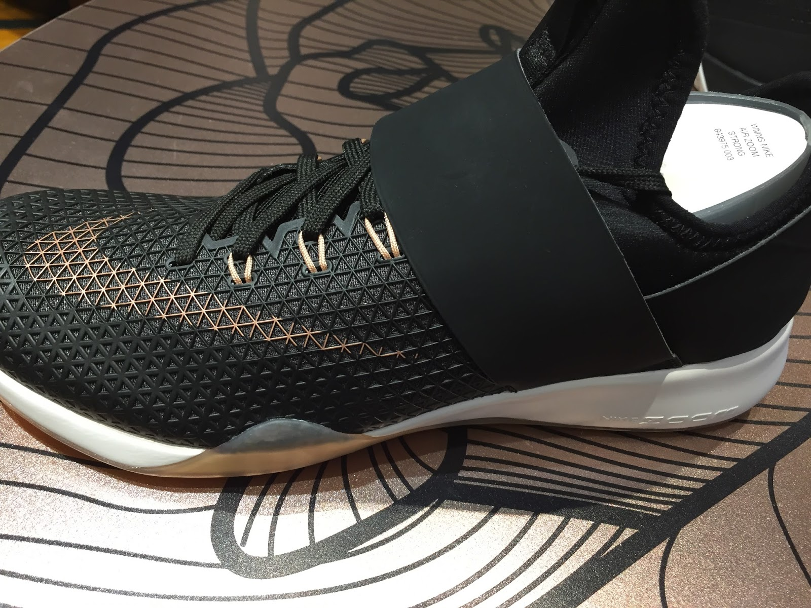 cf80f3d42a1bf Petite Impact  Fit- Nike Air Zoom Strong Rose Gold   Metcon 2 Rose Gold