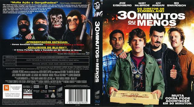Capa Blu-ray 30 Minutos ou Menos