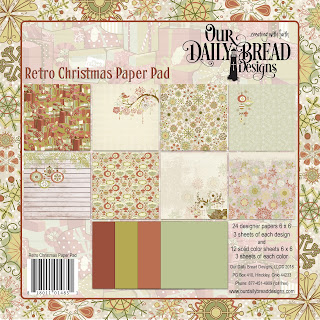 Paper Pad: Retro Christmas