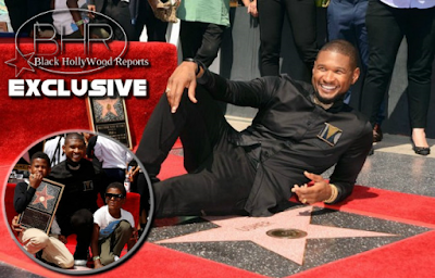 BHR Congratulates Singer Usher For Receiving A Star On The Hollywood Walk Of Fame