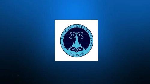 Job in Tezpur University Faculty 2021