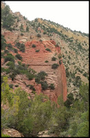 Cool Cliffs at Red Hollow Canyon Orderville Utah