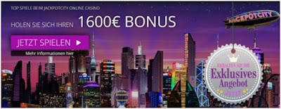 JackpotCity online casino - bonus