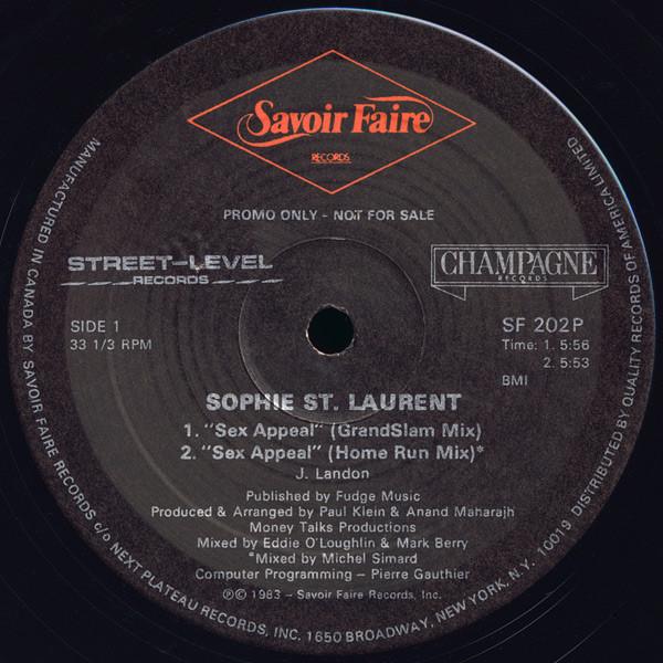 Sophie st laurent sex appeal mp3