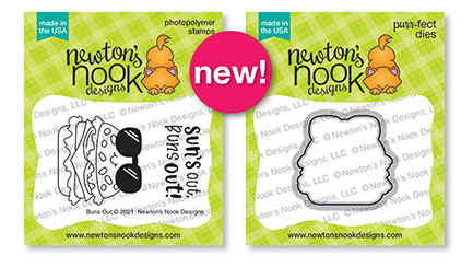 Buns Out Stamp Set & Die Set by Newton's Nook Designs #newtonsnook