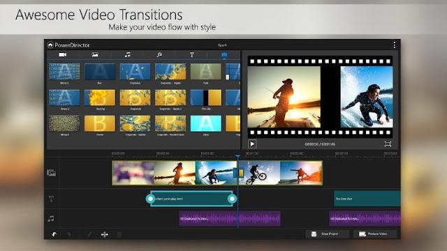 powerdirector video editor full version apk