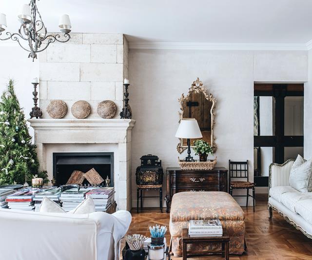 Christmas in an Australian French style farmhouse