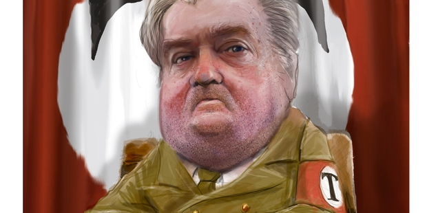 Stephen Bannon's quiet hold on power