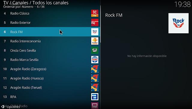 España emisoras de radio