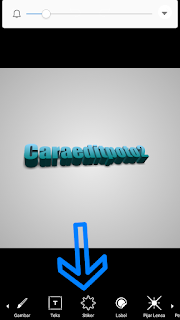 Text 3D Cityscape picsart