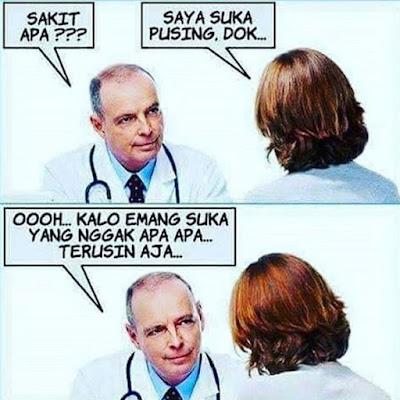 9 Meme Dokter dan Pasien Ini Lucu Banget Bikin Sehat Orang Yang Sakit