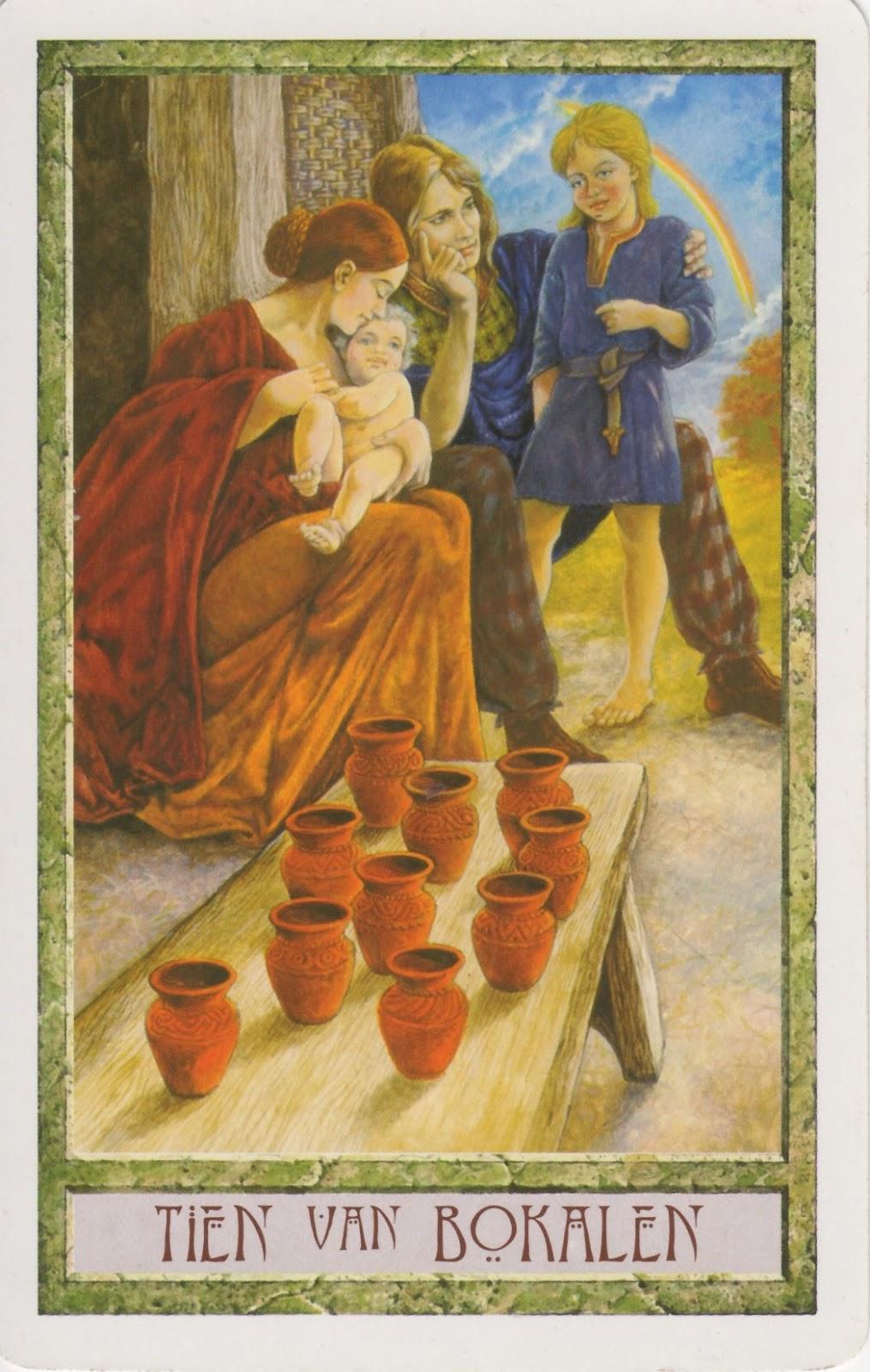 Orakelkaart voor week 49: Tien van Bokalen